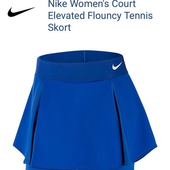 Nike court elevated flouncy tennis skort Medium